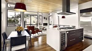 Wohn Und Esszimmer In Einem Raum Küche Mit Esszimmer Youtube