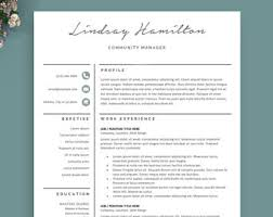 resume template word free cover letter cv template