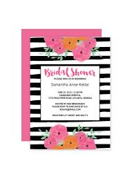 bridal invitation templates free printable floral bridal shower invitation templates