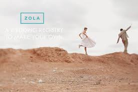 unique wedding registry create your own unique wedding registry with zola get 25 credit