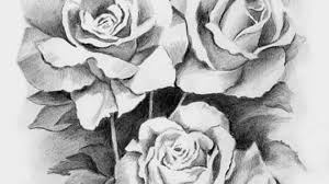 roses pencil sketches angel drawing of pencil sketches rose