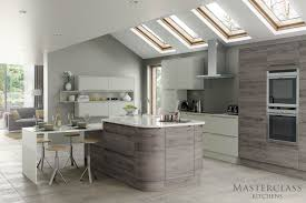latest modern kitchen designs used curved units to soften the look of your modern kitchen design