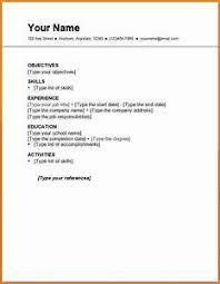 employment resume template resume templates pointrobertsvacationrentals
