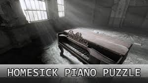 homesick the piano puzzle solution youtube