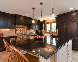 Kitchen Design Pictures Dark Cabinets Dark Cabinets Light Island Houzz