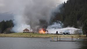 Alaska Wildfire Safety by Fire Destroys Beloved Twin Lakes Playground