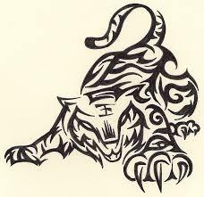 tribal tigers cool tattoos tribal