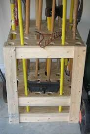 Types Of Garden Rakes - 6 of the best u0026 easy garden tool rack you can make from recycled