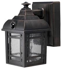 wireless led outdoor lights bronze wireless led craftsman style porch light traditional