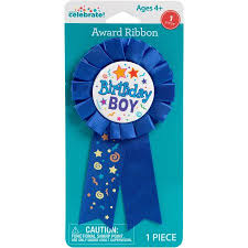birthday boy birthday boy award ribbon walmart