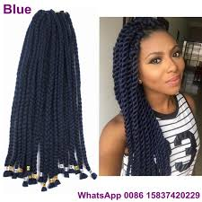 how many packs of hair for box braids 1 pack 18inch 50grams navy blue crochet box braids hair synthetic