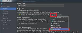 android developer kit java intellij idea 13 error select android sdk stack
