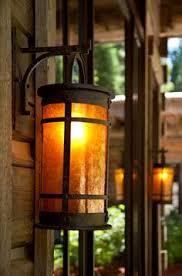log cabin outdoor lighting rustic outdoor lighting spaces rustic with bronze outdoor lighting