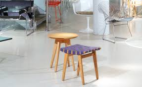risom round side table hivemodern com