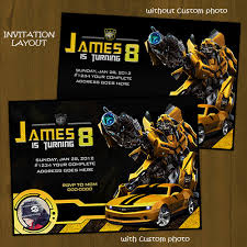 bumblebee transformers birthday package diy splashbox printables