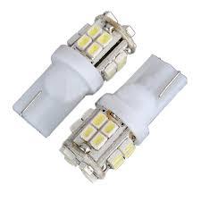 led light bulbs for cars t10 w5w 194 168 car white 20 smd led side light bulb 12v us 2pcs lot