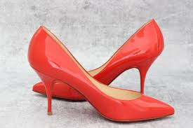 christian louboutin red patent leather pigalle 85 heels at jill u0027s