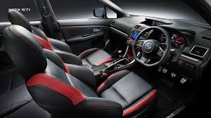 subaru sti 2017 subaru interior features 2017 subaru wrx sti interior features