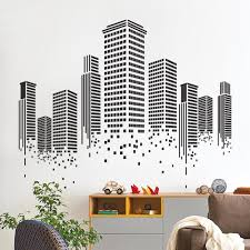 urban wall decal office wall decal sirface graphics urban wall decal
