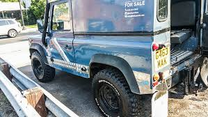 land rover defender 90 for sale the story of blue the second life for an adventure tested land