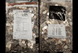 the mta is auctioning 13 435 pounds of foreign coins 6sqft