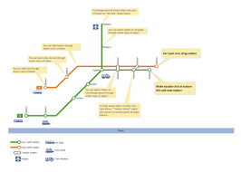 Prague Subway Map by Conceptdraw Samples Geo Maps