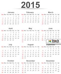 simple 2015 calendar template vector free 123freevectors