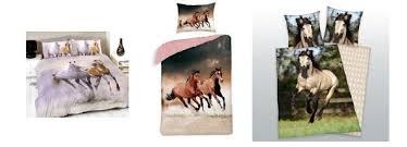 deco chambre cheval housse de couette et parure de lit pour enfants les chevaux