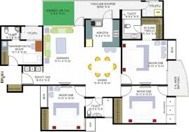 Big House Blueprints by Smartdraw Floor Plan Design Your Ownse Plans For Free Freedesign