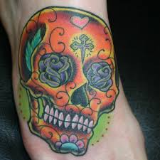 28 fancy sugar skull tattoos slodive