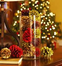 pine cone table decorations diy pine cone decorations for 2015 christmas from 2013 christmas