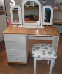 Dressing Table Shabby Chic by Beautiful Shabby Chic Solid Pine Dressing Table Desk With Mirror