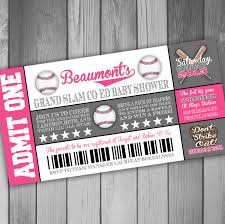 free printable baseball baseball baby shower invitations with rectangular shaped card with