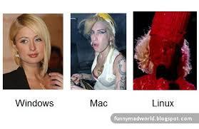 Windows Vs Mac Meme - windows vs mac vs linux poster facebook funniest galleries