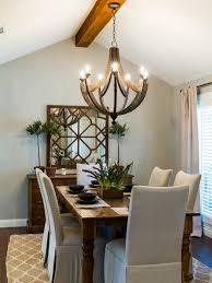 My Ugly Split Level Dining Room Stylized Side Table by Fixer Upper Joanna Gaines U0027 Best Hgtv U0027s Decorating