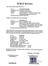 format surat kuasa jual beli rumah contoh surat kuasa sertifikat tanah ebook frog slinger
