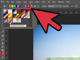 create rainbow photoshop 5 steps pictures