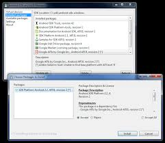 android sdk platform tools sdk manager fixes android studio project site