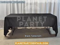 6ft Table Cloth by Tablecloths Rectangular U0026 Round Tablecloths