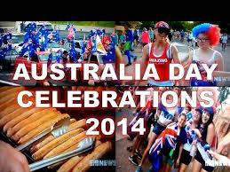how aussie s celebrated australia day 2014