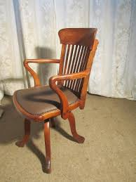 Antique Wooden Office Chair 19th Century Oak Office Chair Or Desk Chair Antiques Atlas
