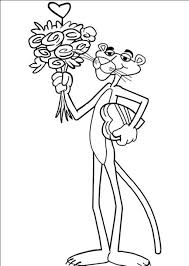 pink panther coloring pages download and print for free