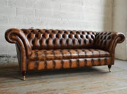 Leather Chesterfield Style Sofa Antique Belmont Leather Chesterfield Sofa Abode Sofas