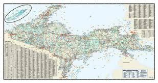 peninsula michigan map peninsula michigan map with cities michigan map