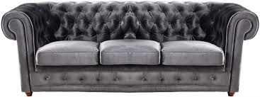 canapé capitonné chesterfield canape chesterfield velours