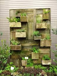 pleasant hanging wall garden design outdoor planters living ideas