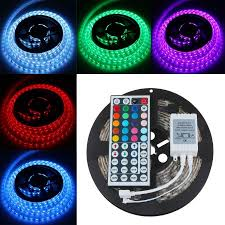 color changing led strip lights with remote casung 5m 16 4 ft 5050 rgb 300leds flexible color changing light
