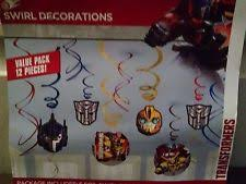 transformers party decorations transformers party decorations ebay