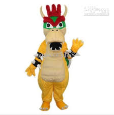 Bowser Halloween Costumes Super Mario Bowser Koopa Mascot Costumes Halloween Fancy Dress