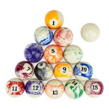 Pool Table Supplies by Amazon Com Marbled Pool Table Billiard Ball Set By Felson